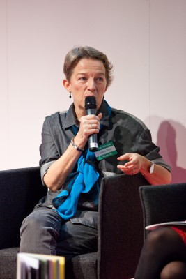 Janina Orlov at Frankfurt Book Fair 2014