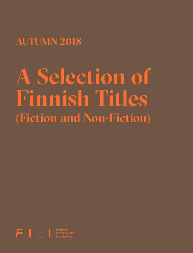 Autumn 2018: A Selection of Finnish Titles (Fiction and Non-Fiction)