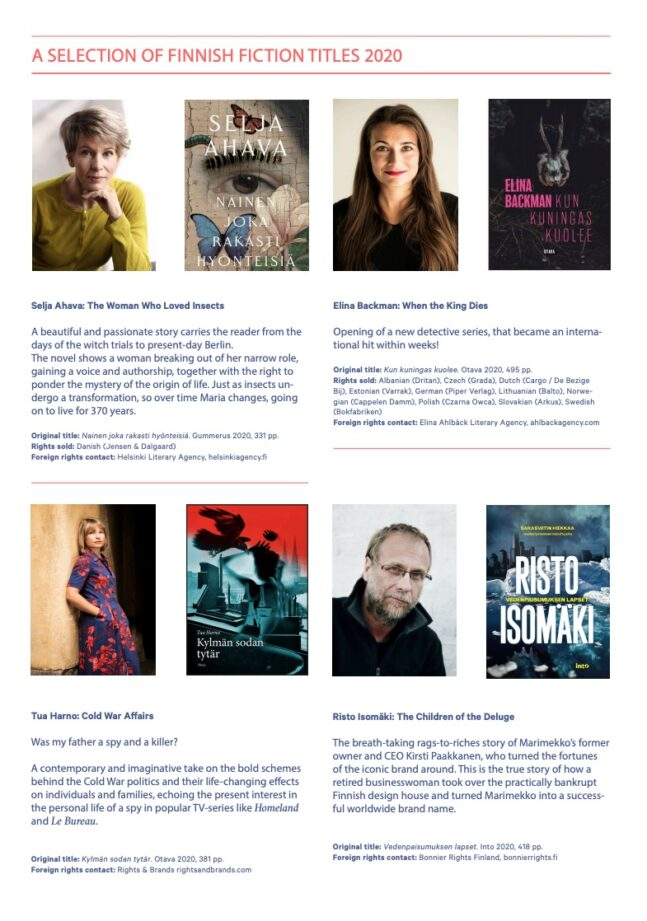 Autumn 2020: Selected titles (adult fiction & non-fiction)